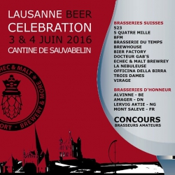 Lausanne Beer Celebration 2016